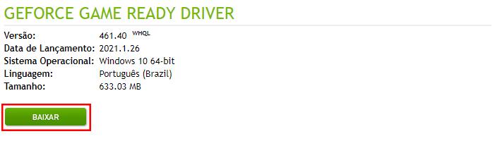 Não Consigo Achar Um Driver Da Placa de Vídeo e Agora?